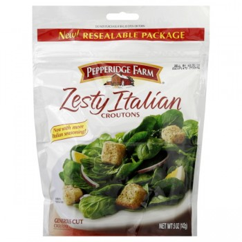 Pepperidge Farm Croutons Zesty Italian Generous Cut