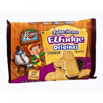 Keebler E.L. Fudge Sandwich Cookies Butter