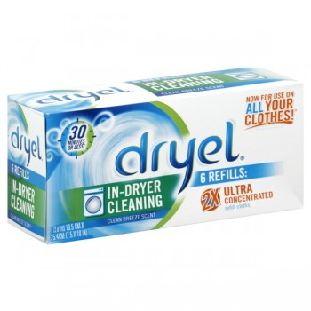 Dryel Fabric Care Clean Breeze Refill