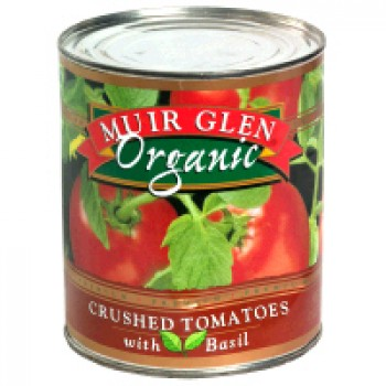 Muir Glen Tomatoes Crushed with Basil Organic