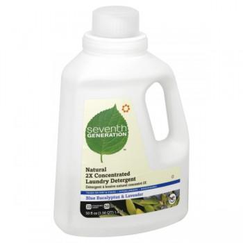 Seventh Generation 2X Liquid Laundry Detergent HE Eucalyptus & Lavender