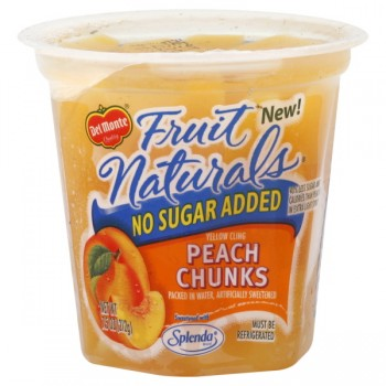 Del Monte Fruit Naturals Peach Chunks No Sugar Added