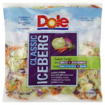Salad Dole Classic Iceberg All Natural