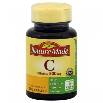 Nature Made Vitamin C 500 mg Tablets