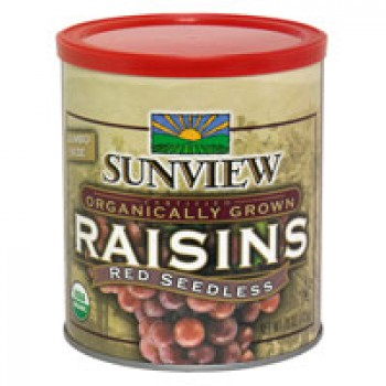 Sunview Raisins Red Seedless Jumbo Organic