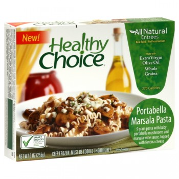 Healthy Choice All Natural Entrees Portabella Marsala Pasta