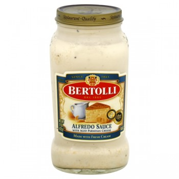 Bertolli Pasta Sauce Alfredo with Aged Parmesan Cheese