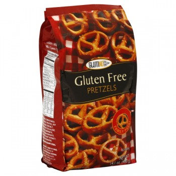 Glutino Pretzel Twists Gluten Free Family Size