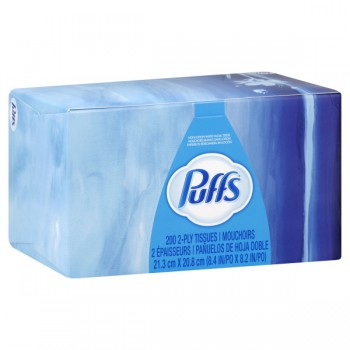 Puffs Facial Tissue Non-Lotion 2-Ply White