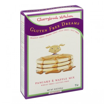 Cherrybrook Kitchen Pancake & Waffle Mix Gluten & Wheat Free Natural