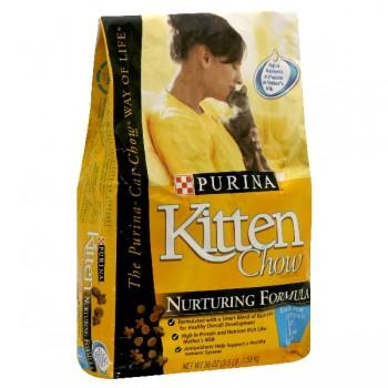 Purina Kitten Chow Dry Kitten Food Nurturing Formula