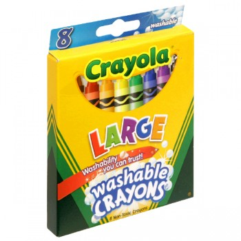 Crayola Kids Classic Crayons Washable