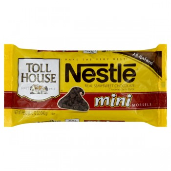 Nestle Toll House Morsels Semi-Sweet Chocolate Mini