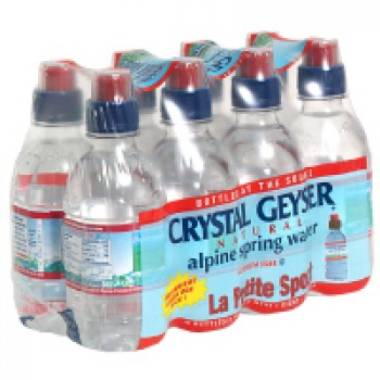 Crystal Geyser Spring Water Alpine - 8 pk