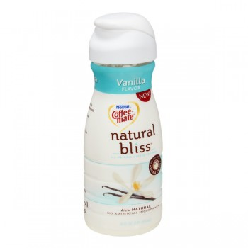 Nestle Coffee-mate Natural Bliss Vanilla All Natural Refrigerated
