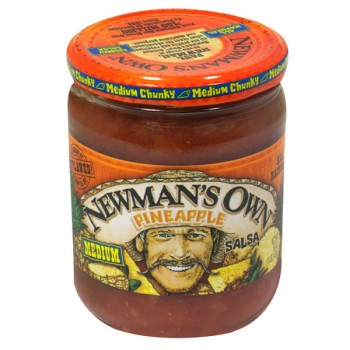 Newman's Own Salsa Pineapple Medium All Natural