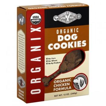 Castor & Pollux Organix Dog Cookies Chicken Formula