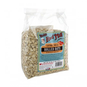 Bob's Red Mill Oats Rolled Whole Grain Extra Thick