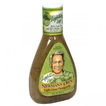 Newman's Own Lighten Up! Salad Dressing Lime Vinaigrette