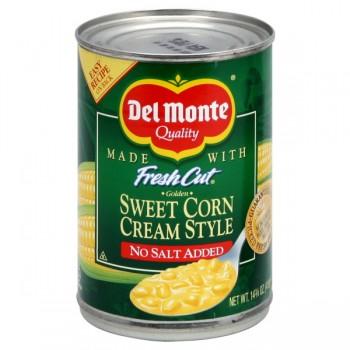Del Monte Fresh Cut Corn Cream Style Sweet No Salt Added