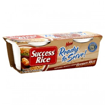 Minute Ready to Serve Rice Brown Fully-Cooked - 2 pk