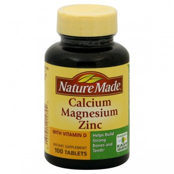 Nature Made Calcium Magnesium & Zinc Tablets
