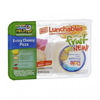Oscar Mayer Lunchables with Fruit Pizza Extra Cheesy