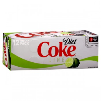 Coke with Lime Diet - 12 pk
