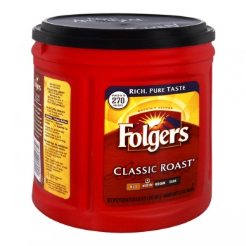 Folgers Classic Roast Medium Coffee (Ground)