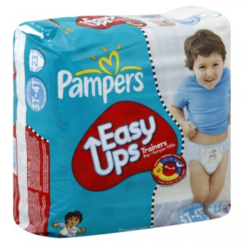 Pampers Easy Ups Training Pants Size 5 Boys - 32-40 lbs
