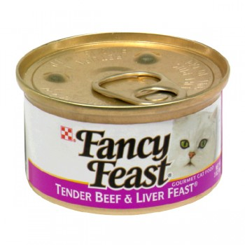 Fancy Feast Wet Cat Food Gourmet Beef & Liver Feast