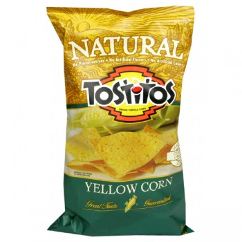 Tostitos Tortilla Chips Natural Yellow Corn Organic