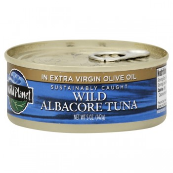 Wild Planet Tuna Wild Albacore in Extra Virgin Olive Oil