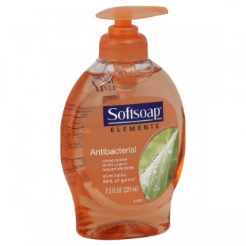 Softsoap Liquid Hand Soap Antibacterial with Light Moisture Pump