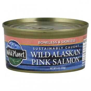 Wild Planet Salmon Wild Alaskan Pink Boneless & Skinless
