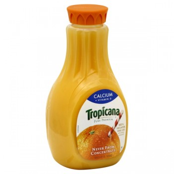Tropicana Pure Premium 100% Pure Orange Juice Calcium Pulp Free