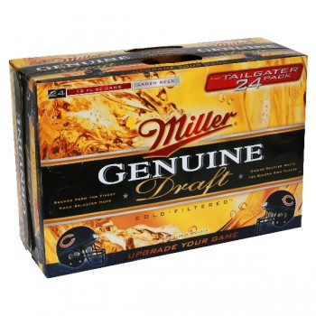 Miller Genuine Draft - 24 pk