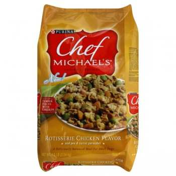 Purina Chef Michael's Dry Dog Food Rotisserie Chicken Flavor