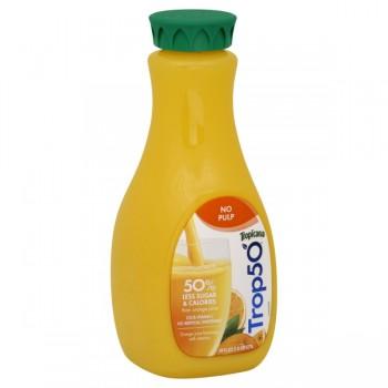 Tropicana Trop50 Orange Juice Beverage 50% Less Sugar Pulp Free