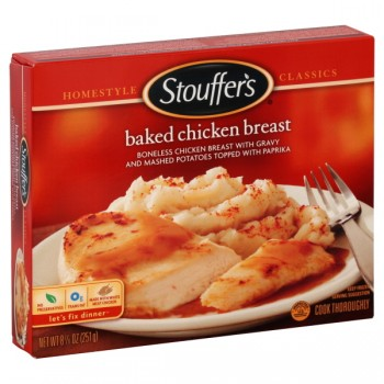 Stouffer's Homestyle Classics Baked Chicken Breast with Mashed Potatoes