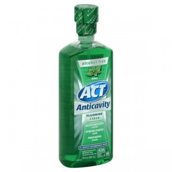 ACT Anticavity Fluoride Treatment Rinse Mint