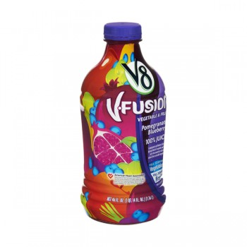 V8 V-Fusion 100% Pomegranate Blueberry Juice
