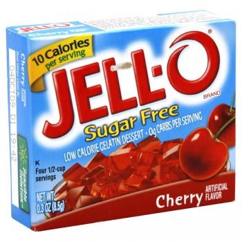Jell-O Gelatin Dessert Cherry Sugar Free