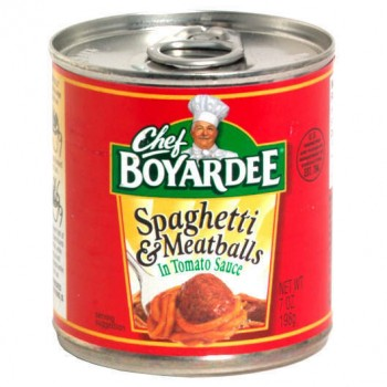 Chef Boyardee Spaghetti & Meatballs EZ Open