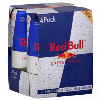 Red Bull Energy Drink - 4 pk