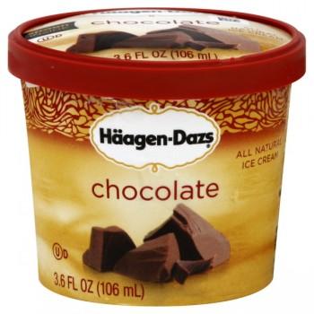 Haagen-Dazs Ice Cream Single Serve Chocolate