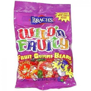 Brach's Gummi Bears Wild N Fruity