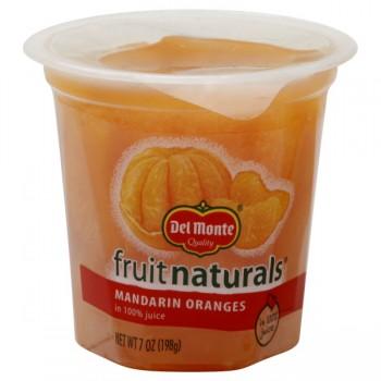 Del Monte Fruit Naturals Oranges Mandarin