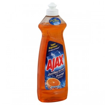 Ajax Dish Liquid Antibacterial Orange