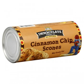 Immaculate Baking Co. Scones Cinnamon Chip All Natural - 8 ct
